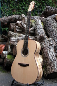 Steel String Guitar Spalted Mango