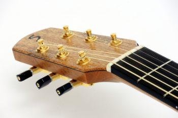 steel string guitar side sound port 3 holes ambition