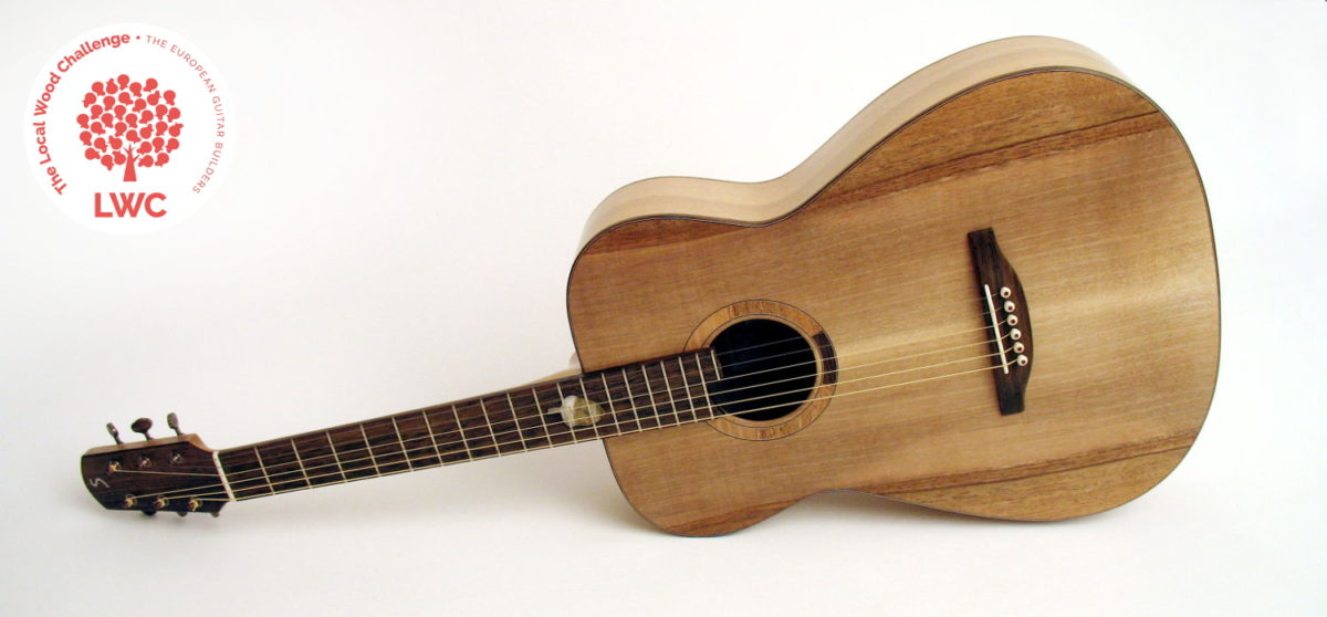 Fingerstyle Blues Guitar Walnut Bog Oak Local Woods Fingerstyle Blues Guitar Walnut Bog Oak Local