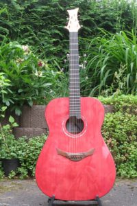 Stoll Steelstring Guitar Ambition Silver Oak Custom with Side Soundport