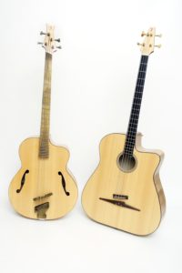 the Duke and the legendary acoustic bass in comparison