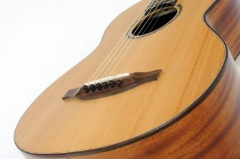 Travel guitar All solid Mahogany 588 mm scale