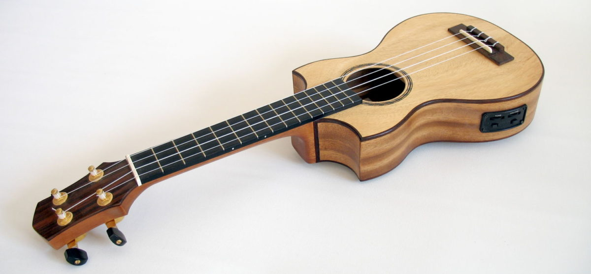 Concert Ukulele with double cutaway