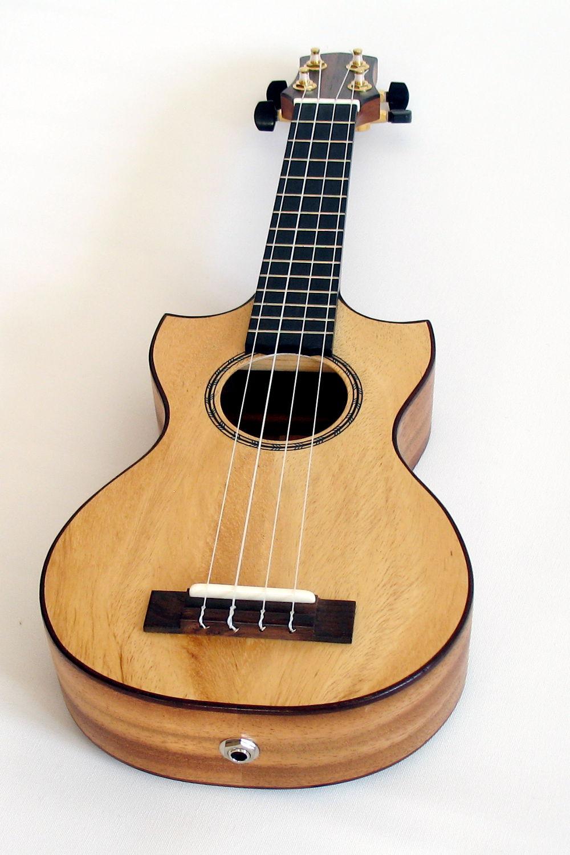 ukuleles concert ukulele with double cutaway luthier. Black Bedroom Furniture Sets. Home Design Ideas