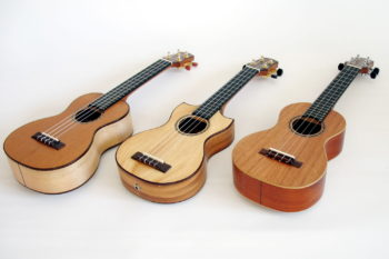 Ukuleles mahogany cedar ash maple walnut