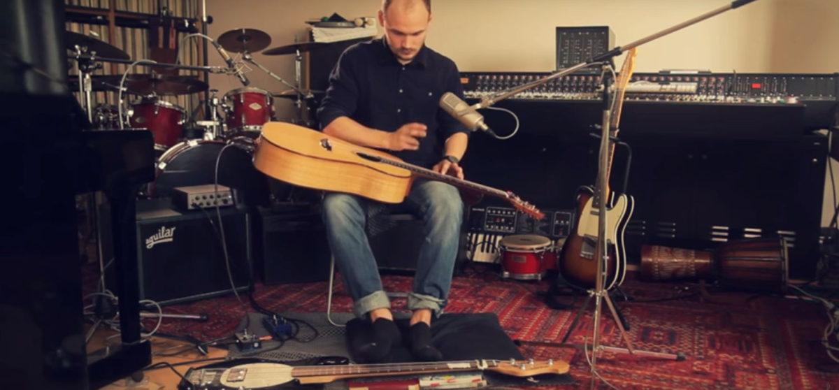 Pierre Pihl on Steelstring Guitar Stoll Ambition Silver Oak