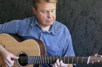 IQ steel string guitar fanned frets frank schreiber albatross peter green