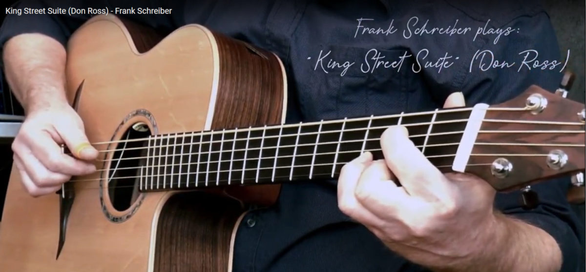 IQ Bariton Steel String Guitar Frank Schreiber King Street Suite Don Ross