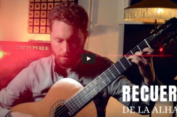 video classical fanned frets guitar STOLL classic pro multiscale tarrega recuerdos de la alhambra