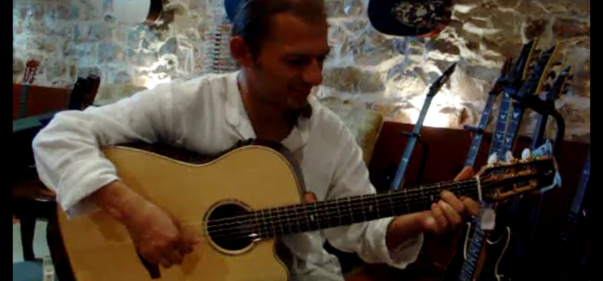 video steel string guitar Stoll ambition fingerstyle