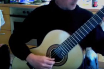 video classical guitar Stoll Classic Line Pro