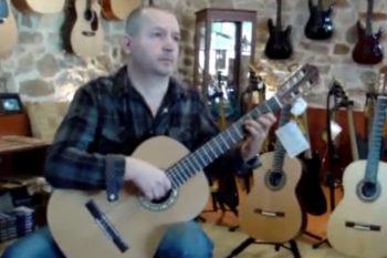 Video classical guitar Stoll Estudio Custom