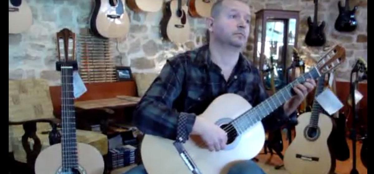 Video Classical Guitar Stoll Primera Custom